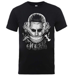 DC Comics Men's Tee: Suicide Squad Joker Smile
