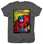 Hasbro Men's Tee: Transformers Optimus Prime Comic