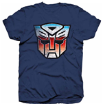 Hasbro Men's Tee: Transformers Autobot Shield Distress