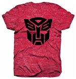 Hasbro Men's Tee: Transformers Autobot Shield Black