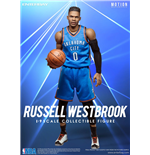 NBA Collection Motion Masterpiece Actionfigur 1/9 Russell Westbrook 23 cm