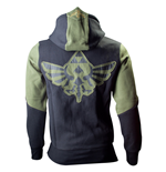 Zelda - Men's Hoodie, Green Wingcrest Patch