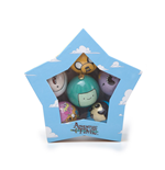 Adventure Time - Xmas Decor Set Of 6 Balls Multi Character