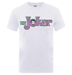 DC Comics Men's Tee: Joker Crackle Logo