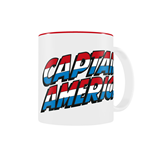 Marvel Comics Mug Captain America Logo