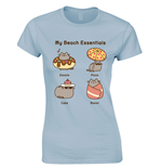 Pusheen Ladies T-Shirt Beach Essentials