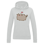 Pusheen Sweatshirt Love Heart
