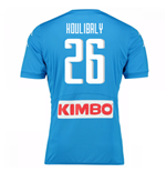 2016-17 Napoli Replica Home Shirt (Koulibaly 26)