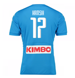 2016-17 Napoli Replica Home Shirt (Hamsik 17)