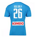2016-17 Napoli Authentic Home Shirt (Koulibaly 26)
