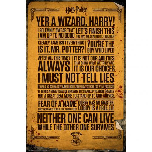 Harry Potter Poster Quotes 263