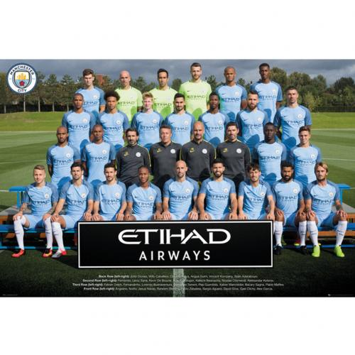 Manchester City F.C. Poster Squad 2