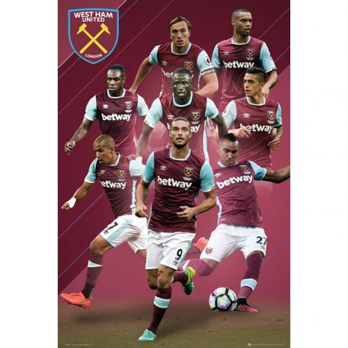 West Ham United F.C. Poster Players 1