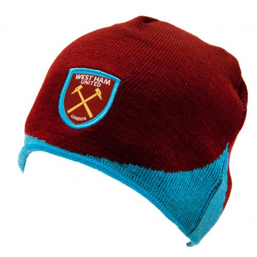 West Ham United F.C. Knitted Hat WN