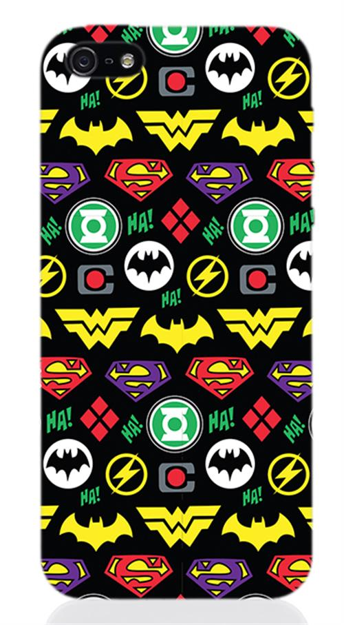 DC Comics Superheroes iPhone Cover 242506