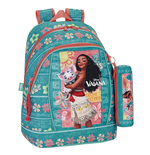 Vaiana backpack 32 with pencil case