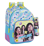 Soy Luna (Faces) backpack 42 with pencil case