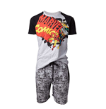 Marvel - Marvel Comics Vintage logo Male Shortama