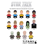 Star Trek TOS Trading Figure Where No Man Has Gone Before Collection Titans Display 8 cm (20)