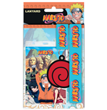 Naruto Lanyard with Rubber Keychain Logo