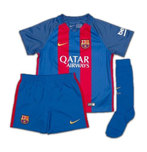 Buy 2016 2017 Barcelona Home Nike Little Boys Mini Kit