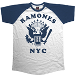 Ramones Men's Raglan Tee: Retro Eagle