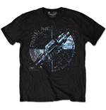 Pink Floyd Men's Special Edition Tee: Machine Greeting Blue