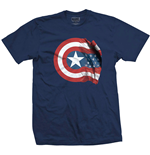 Marvel Comics Men's Tee: Captain America American Shield