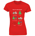 Pusheen T-shirt How To Catch Santa