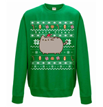 Pusheen Sweatshirt Santa Claws