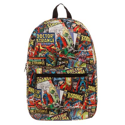 DR. STRANGE Comic Book Sublimated Backpack
