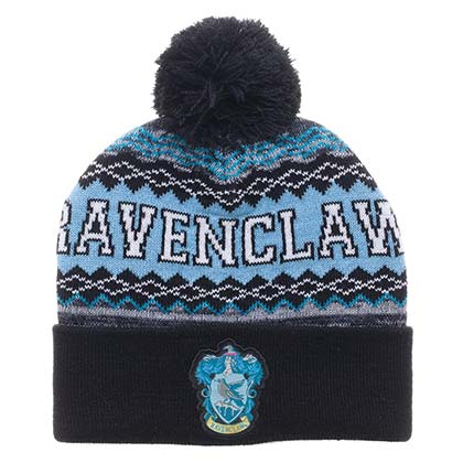 HARRY POTTER Ravenclaw Pom-Pom Winter Beanie