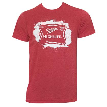 MILLER High Life Sketched Logo Tee Shirt