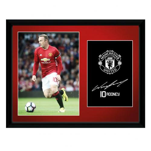 Manchester United F.C.  Picture Rooney 16 x 12