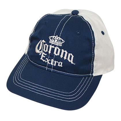 CORONA EXTRA Freshman Blue and White Hat