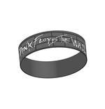 Pink Floyd - Wall Logo Rubber Wristband