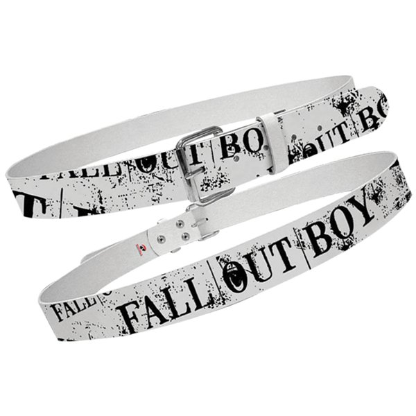 Fall Out Boy - Printed Belt - Medium
