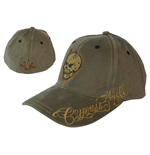 Cypress Hill - Skull Brown Osfm Flex Cap