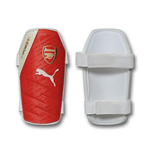 2016-2017 Arsenal Puma evoSPEED 5 Shinguards (White-Red)