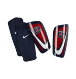 2016-2017 PSG Nike Mercurial Lite Shinpads (Red-Navy)