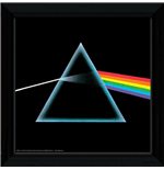 Pink Floyd Framed Picture - Dark Side Of The Moon - 30x30 Cm