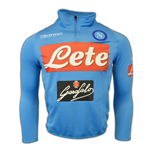 2016-2017 Napoli Half Zip Training Sweat (Sky Blue)
