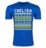 Chelsea Christmas T-Shirt (Blue)