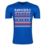 Rangers Christmas T-Shirt (Blue) - Kids
