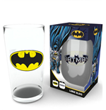 DC Comics Pint Glass Batman Logo