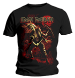 Iron Maiden Men's Tee: Benjamin Breeg Red Graphic