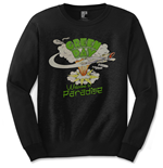 Green Day Men's Long Sleeved Tee: Welcome to Paradise