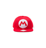 Nintendo - Red Snapback cap with Mario logo