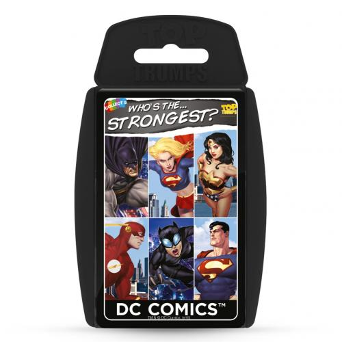 DC Superheroes Top Trumps