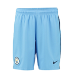 2016-2017 Man City Home Nike Football Shorts (Kids)